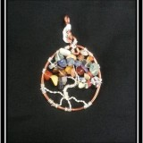 Precious Tree of Life Necklace Pendant