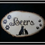 Custom Basswood Sign