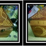 "Celtic Knot ""Tree of Life"" Blessing Box"