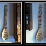 Decorative Bamboo Wood Burned Spoons