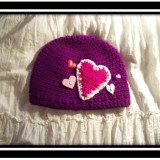 Valentine's Day Lots of Love Beanie