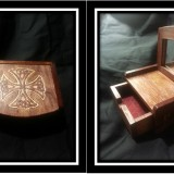 Celtic Knot Mirror with Drawer