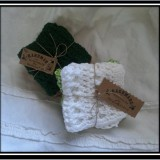2pkg. of 100% USA grown Cotton Washcloth/Dishcloths