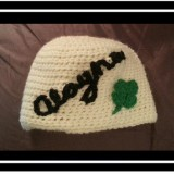 Personalized Shamrock Hat