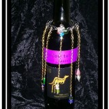 Wine Bottle Jewelry with Wine Charms