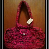 Basket Weave Large Purse