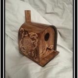 Celtic Knot Mailbox Style Birdhouse