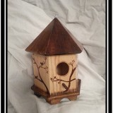 Nature's Silhouette Gazebo Style Birdhouse